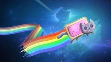 Photo of Wallpaper do dia: Nyan Cat!