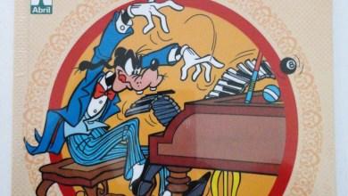 Foto de Nas Bancas: Pateta Faz História – Volume 04! [Fotos] [Beethoven / Daniel Boone]