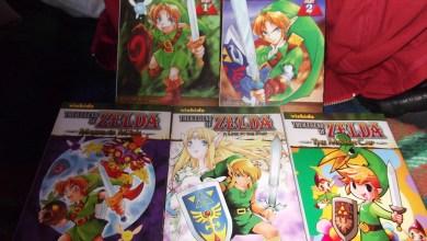 Foto de Dia de correio! Mangás americanos: Zelda OoT, MM, ALttP e Minish Cap! [+ Asch the Bloody Vol. 1] [Fotos]