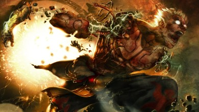 Foto de Quem não tem braço, vai a luta com as pernas em Asura's Wrath!