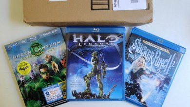 Photo of Dia de correio: Blu-ray Halo, Sucker e Lanterna
