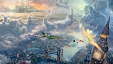 Foto de Wallpaper de ontem: Peter Pan!