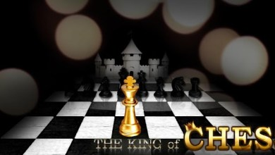 Photo of The King of  Chess | Jogando xadrez no celular