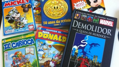 Photo of Nas Bancas: Disney e Graphic Novel Marvel!