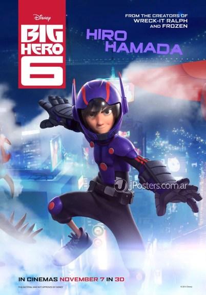 Big Hero 6 Hiro Hamada