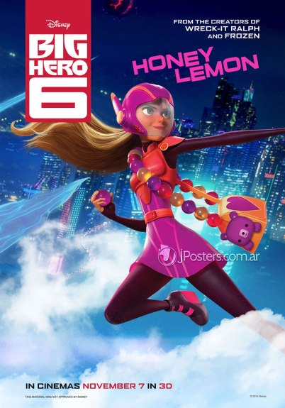 Big Hero 6 Honey Lemon