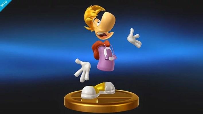 Trofeu Rayman Smash Bros