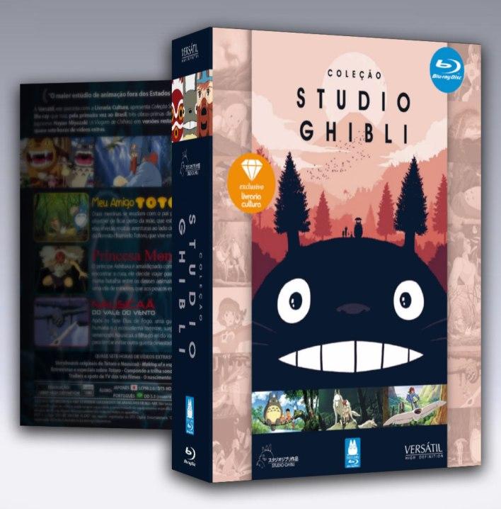 Coleção Studio Ghibli Volume 1 Blu-Ray