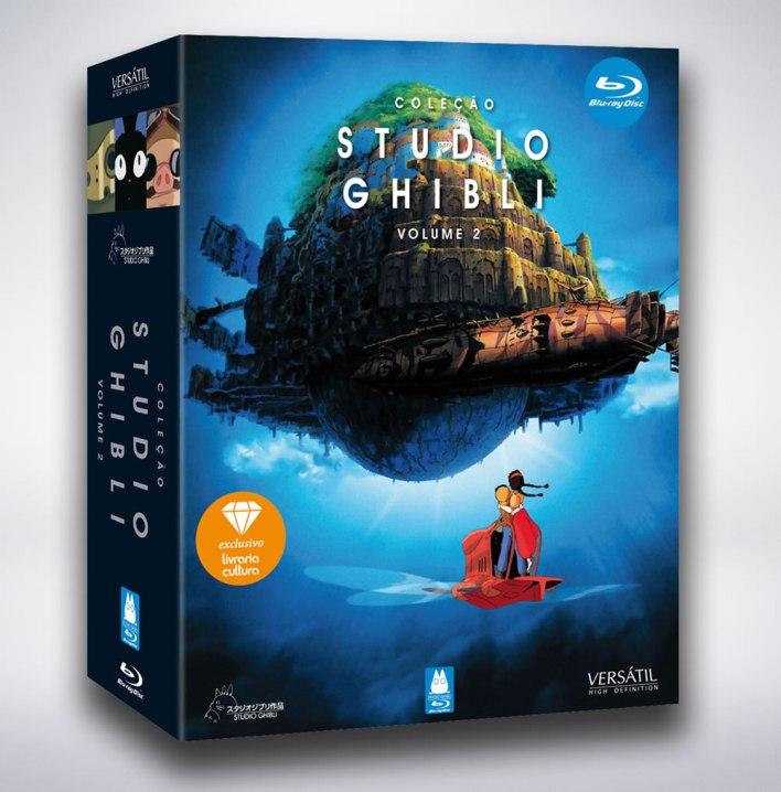 Coleção Studio Ghibli Volume 2 Blu-Ray