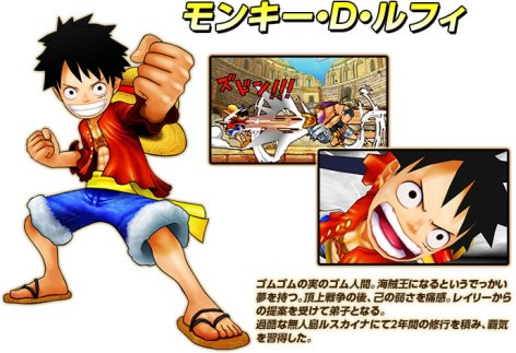 One Piece Super Grand Battle X chara01