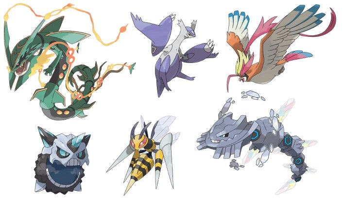 pokemon oras mega evolucoes