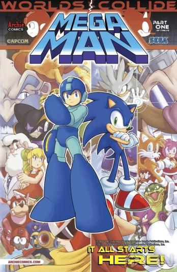 Mega Man e Sonic