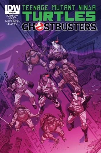 Tartarugas Ninja e Ghostbuster