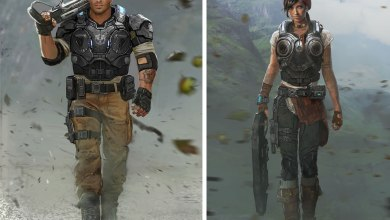 Photo of Gears of War 4 | Artes conceituais de JD & Kait! (+ Demonstração da E3)