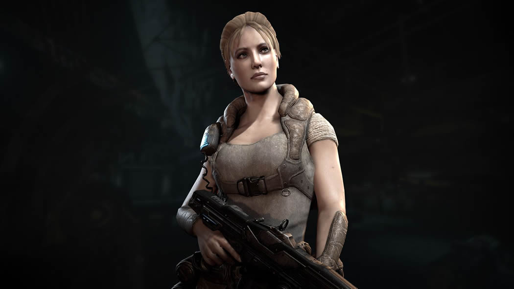 Gears Of War Anya Nude 37