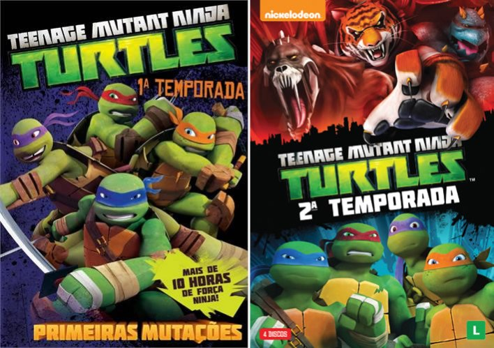 TMNT Nick DVDs
