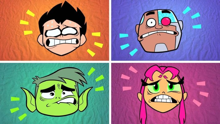 teen titans face