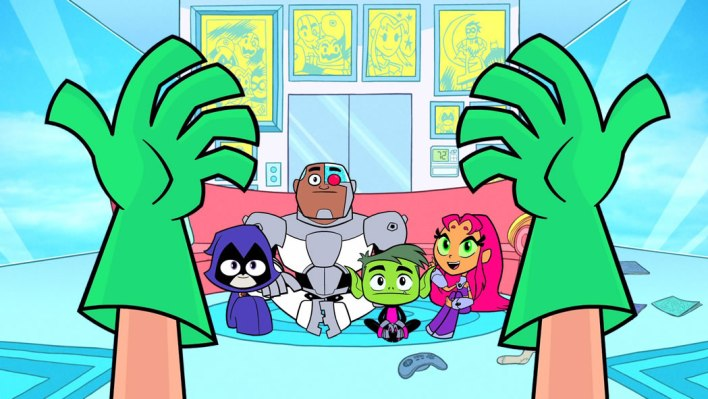 teen titans go hands
