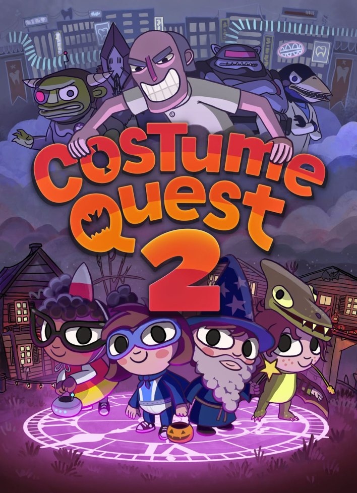 Costume Quest 2 key art