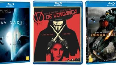 Foto de Blu-ray | Gravidade, Círculo de Fogo, V de Vingança e outros por 15 reais!