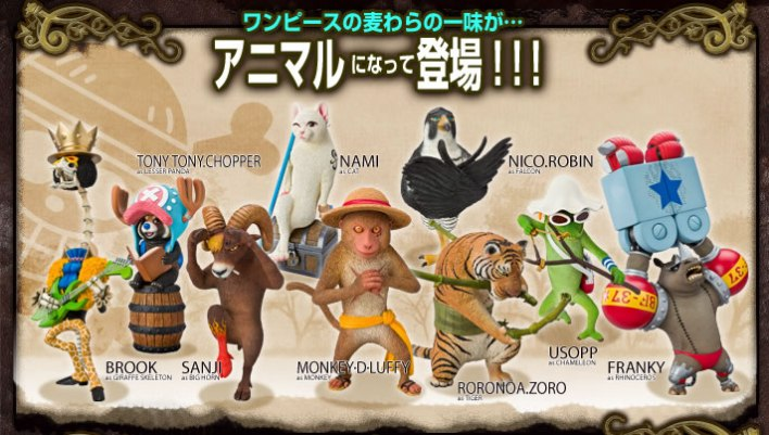 one_piece_charas_as_animals