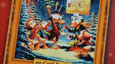 Foto de Capa Dura | Contos de Natal por Carl Barks – O encadernado perfeito!