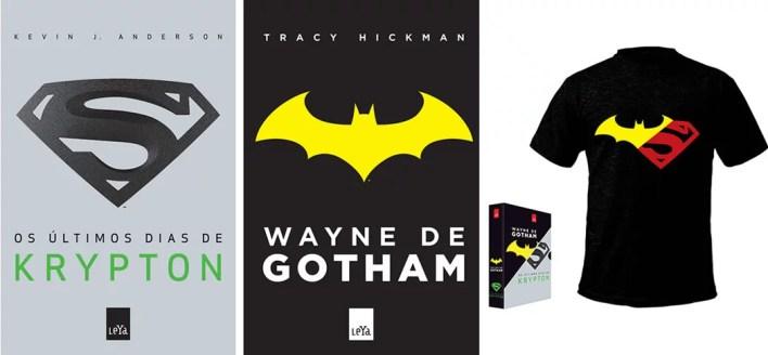 Box Wayne de Gotham Krypton Camisa