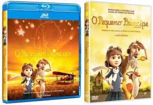 DVD BD O Pequeno Principe