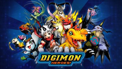 Foto de (Press) Digimon Heroes! é lançado exclusivamente para Android e iOS!