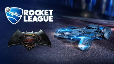 Batmóvel Rocket League