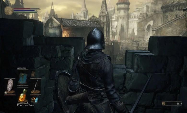 Dark Souls III Grande Muralha de Lothric