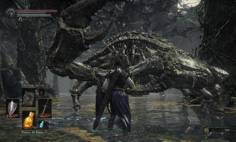 Dark Souls III Estrada dos Sacrifícios