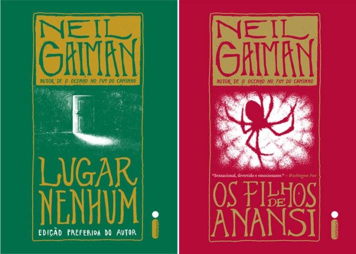 Neil Gaiman - Lugar Nenhum e Filhos de Anansi