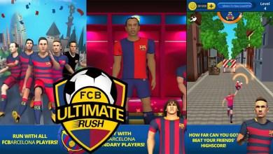 Foto de FC Barcelona Ultimate Rush | Corra em um runner game futebolístico! (Indicação)