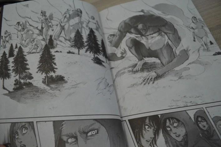 shingeki no kyojin manga ataque dos titãs