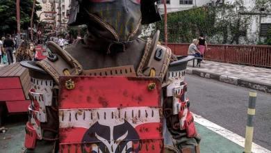 Photo of Campanha leva personagens medievais de For Honor para as ruas de São Paulo