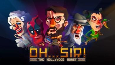 """Foto de Gambitious lançará o jogo de Batalha de Insultos """"Oh…Sir! The Hollywood Roast"""" em 31 de maio"""
