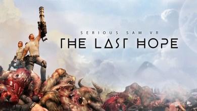 Foto de Lançamento total com armas em punho para Serious Sam VR: The Last Hope