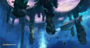 Subnautica - Coral Reef Zone Floating Islands 2