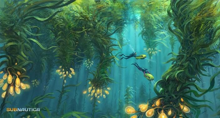Subnautica - Kelp Forest2