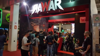 Foto de RAWAR retorna à Brasil Game Show com estande maior e foco na experiência de jogo