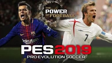 Photo of Pro Evolution Soccer | O Poder do Futebol, PES 2019 já está disponível