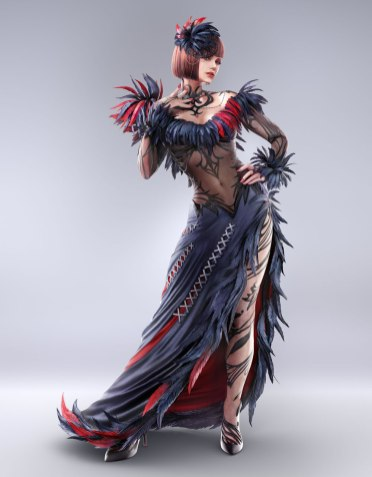 Tekken 7 Anna Williams Render