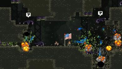 Photo of A batalha pela liberdade chega ao Switch, Broforce já disponível
