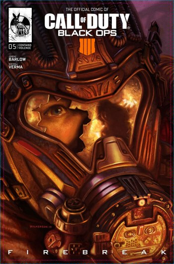 Call of Duty Black Ops 4 Comic Capa 05 Firebreak