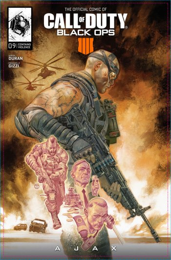 Call of Duty Black Ops 4 Comic Capa 09 Ajax