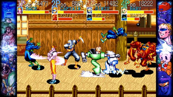 Capcom Beat'em Up Bundle - Captain_Commando_2