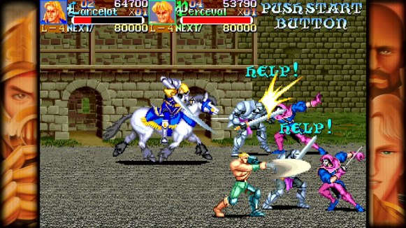 Capcom Beat'em Up Bundle - Knights_of_the_Round_1