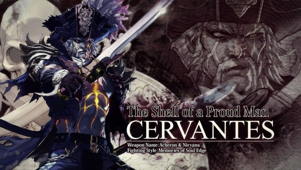 Soulcalibur VI Cervantes Artwork