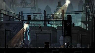 Mark of the Ninja Remastered - ninja drop